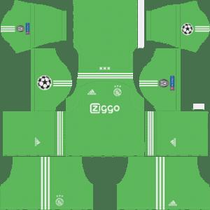 AFC Ajax UCL Goalkeeper Away Kit