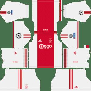 AFC Ajax UCL Home Kit
