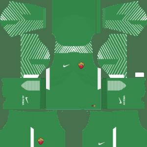 AS Roma Goalkeeper Away Kit 2018