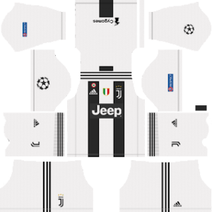 Dream League Soccer Juventus UCL Kits 2019