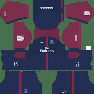 Paris Saint-Germain Kits 2017/2018 Dream League Soccer