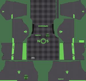 Sporting CP Away Kit 2019