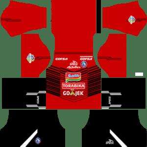 Arema FC Goalkeeper Away Kit 2019