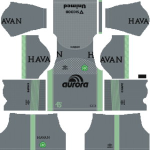 Chapecoense Goalkeeper Away Kit 2019