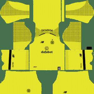 Celtic FC Goalkeeper Home Kit 2019