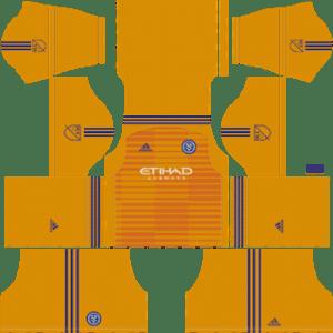 New York City FC Goalkeeper Home Kit 2019