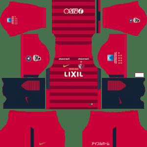 Kashima Antlers Kits 2018/2019 Dream League Soccer