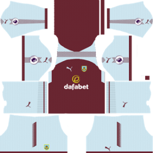 Burnley FC Kits 2017/2018 Dream League Soccer