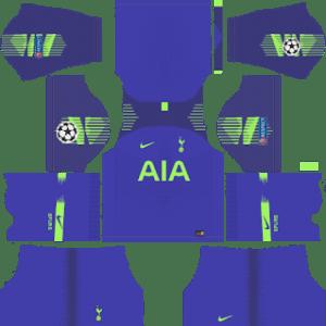 Tottenham Hotspur Goalkeeper Home Kit: