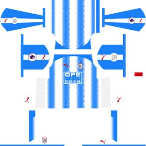 Huddersfield Kits 2017/2018 Dream League Soccer