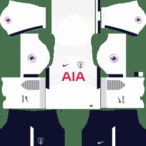 Tottenham Hotspur Kits 2017/2018 Dream League Soccer
