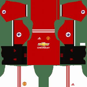 Manchester United Kits 2017/2018 Dream League Soccer