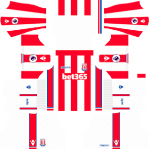 Stoke City FC Kits 2017/2018 Dream League Soccer