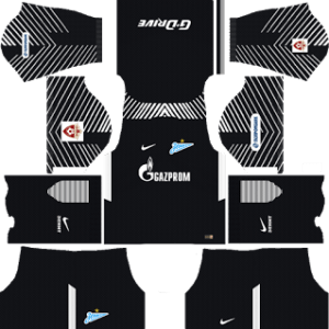 Zenit St Petersburg Goalkeeper Away Kit: