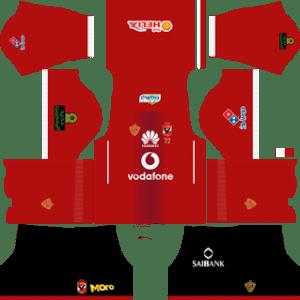 Al Ahly SC Home Kit (Black)