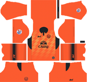 Buriram United Away ACL Kit