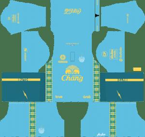 Buriram United Goalkeeper Home Kit