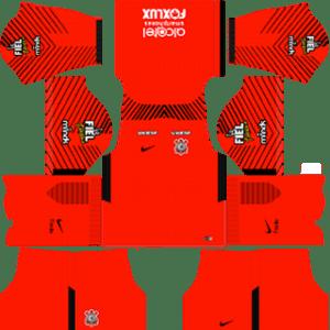 Corinthian F.C. Goalkeeper Away Kit