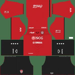 Muangthong United Kits 2019/2020 Dream League Soccer