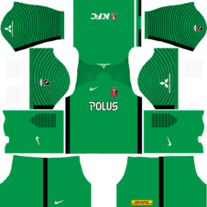 Urawa Red Diamonds Goalkeeper Home Kit