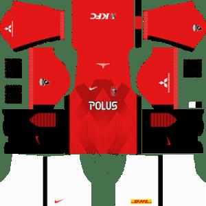 Urawa Red Diamonds Kits 2017/2018 Dream League Soccer