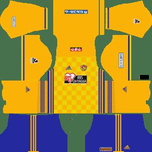 Vegalta Sendai Kits 2017/2018 Dream League Soccer