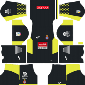RCD Espanyol Goalkeeper Home Kit