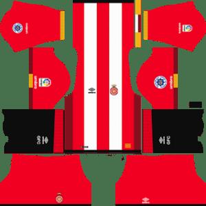 Girona FC Kits 2017/2018 Dream League Soccer