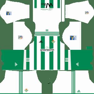 Real Betis Kits 2017/2018 Dream League Soccer