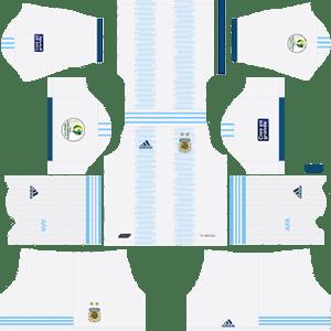 Argentina Copa America Home Kit (White Shorts)