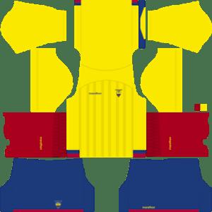 Ecuador Kits 2017/2018 Dream League Soccer