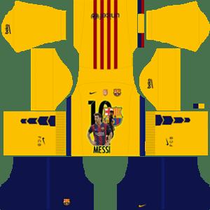 Messi Barcelona Away Kit