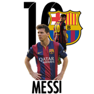 Barcelona Messi Logo