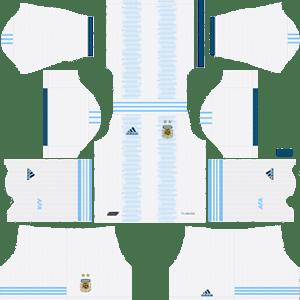 Argentina Home Kit (White Shorts)
