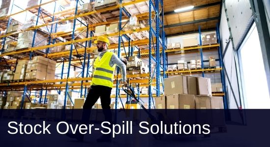 Warehousing -Stock over-spill solutions - FTS Group