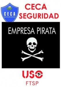 Cartel Pirata CECA comprimida