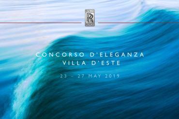 Concorso d'eleganza Villa D'Este with Rolls Royce