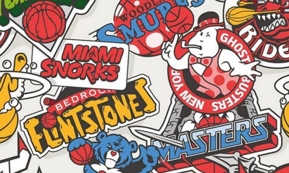 12 nba team logos reimagined as 80s