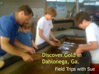 Dahlonega Ga. Gold Tour via @FieldTripswSue