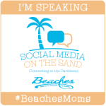 Social Media on the Sands BeachesMoms badge
