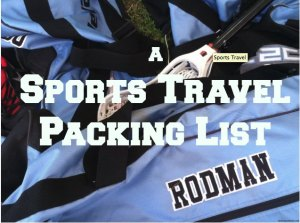 sports travel packing list via @FieldTripswSue @SueRodman