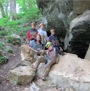 Caving at Cloudland Canyon with Georgia Girl Guides via @fieldtripswithsue