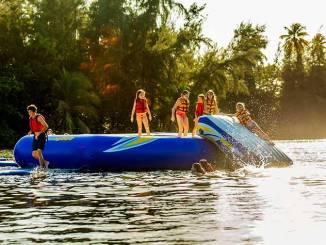 Bahia Beach Resort in Puerto Rico is fun for kids and teens too.