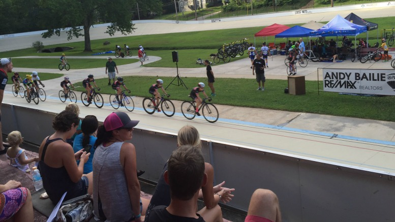 Dick Lane Velodrome in East Point Georgia is a perfect place to experience summer Olympic sports near Atlanta