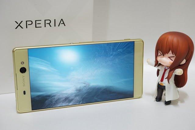 開箱|SONY XPERIA XA Ultra F3215 萊姆金色