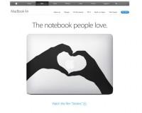 【意外!!】Apple(アップル)公式サイトにMacBook Air の『ステッカー』