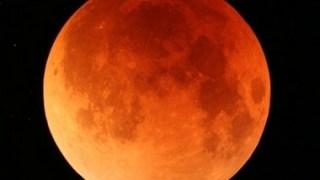 【赤い月】明日2014年10月8日は皆既月食!