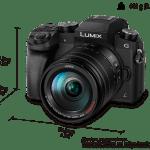 「LUMIX G7」を発表!GH4より一回り小さいサイズで4K動画対応!LUMIX G6とのサイズ比較あり
