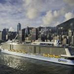 再び、2016年8月25日 神戸港に世界最大級の豪華客船「QUANTUM OF THE SEA(クァンタム・オブ・ザ・シーズ)」入港