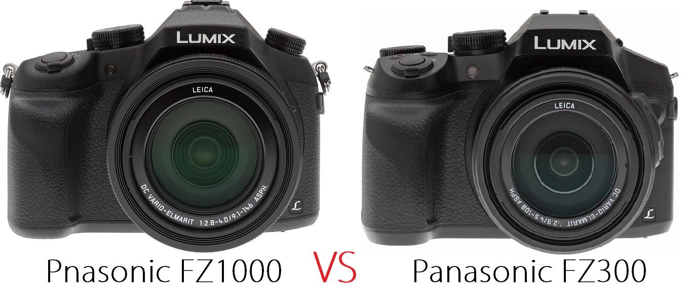 パナソニック lumix fz300 の発表で fz1000 と気になったので比較し